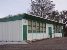 salle polyvalente où ont lieu les cours de yoga Tronsanges